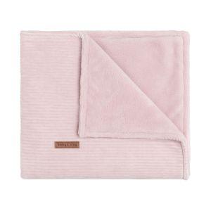 Cot blanket teddy Sense old pink