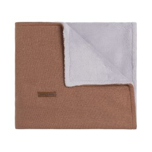 Cot blanket teddy Sparkle copper-honey melee