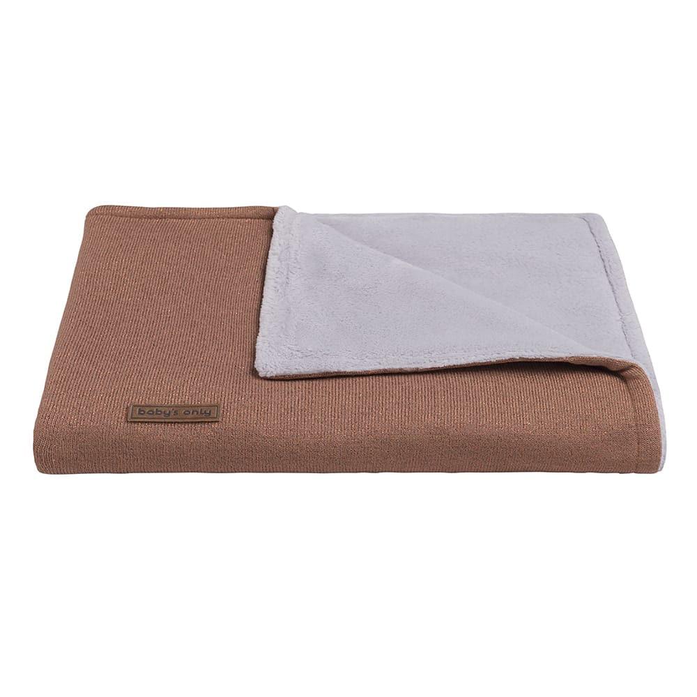 cot blanket teddy sparkle copperhoney melee