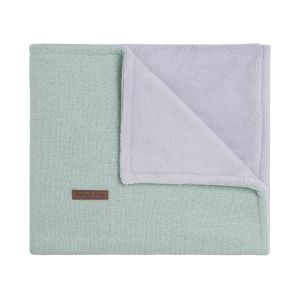 Cot blanket teddy Sparkle gold-mint melee