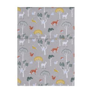 Cot sheet Forest