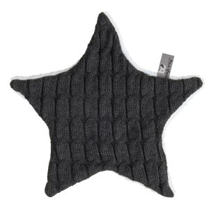 Cuddle cloth star Cable anthracite