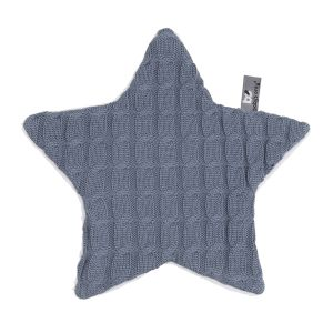 Cuddle cloth star Cable granit