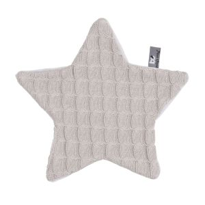 Cuddle cloth Star Cable loam