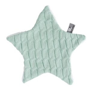 Cuddle cloth star Cable mint