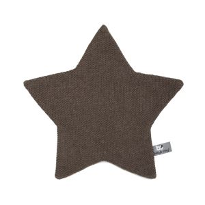 Cuddle cloth star Classic cacao