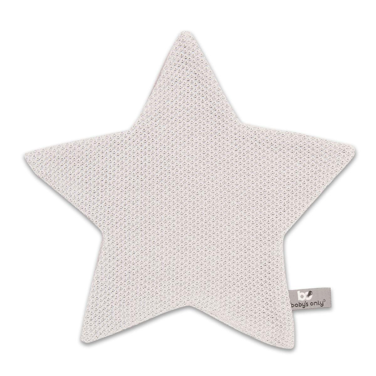 cuddle cloth star classic silvergrey
