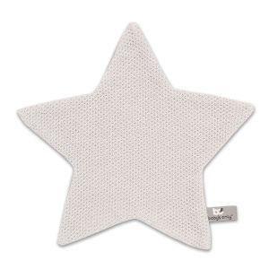 Cuddle cloth Star Classic silver-grey