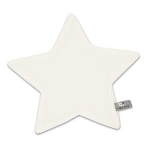 Cuddle cloth star Classic woolwhite
