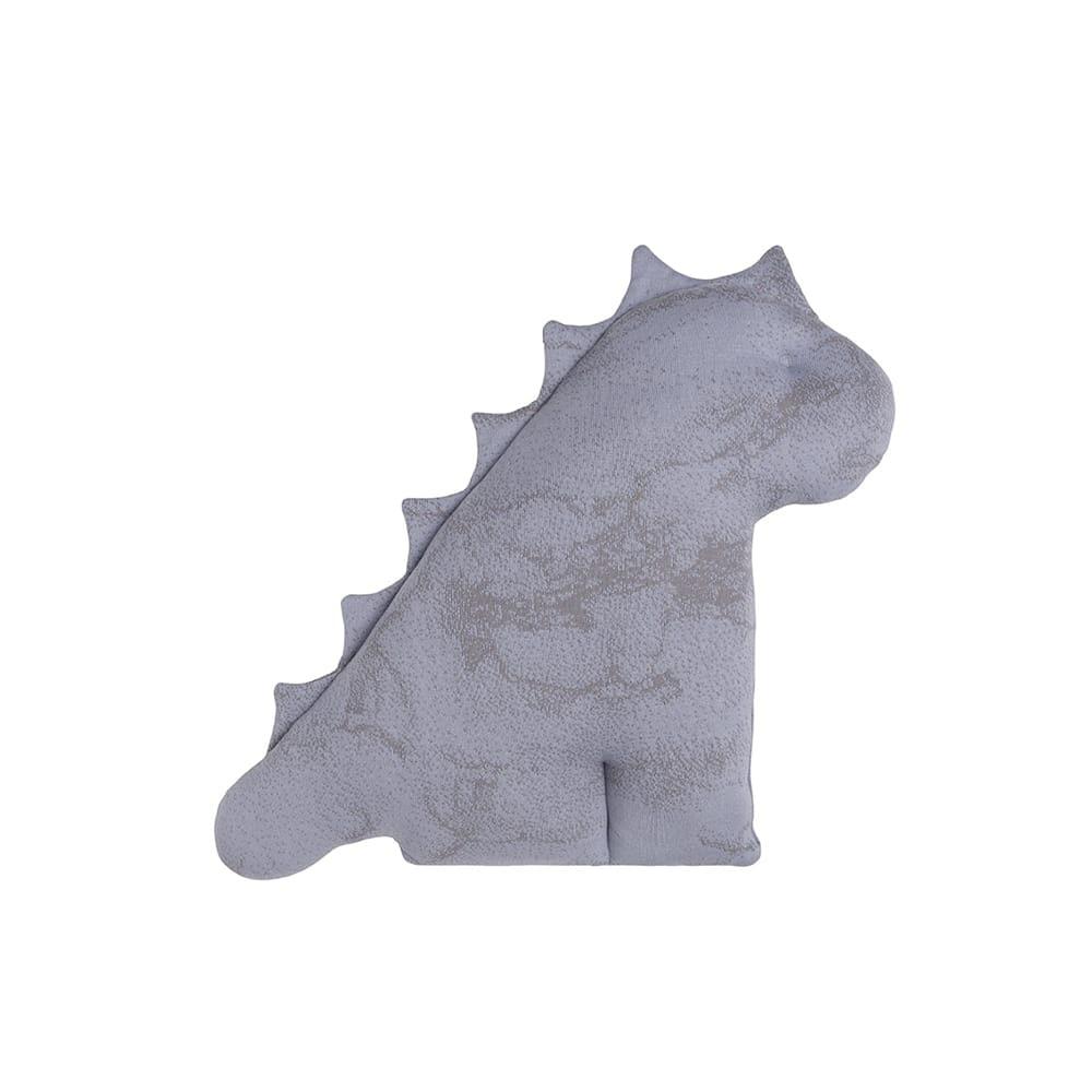 cuddly dino marble cool greylilac 40 cm