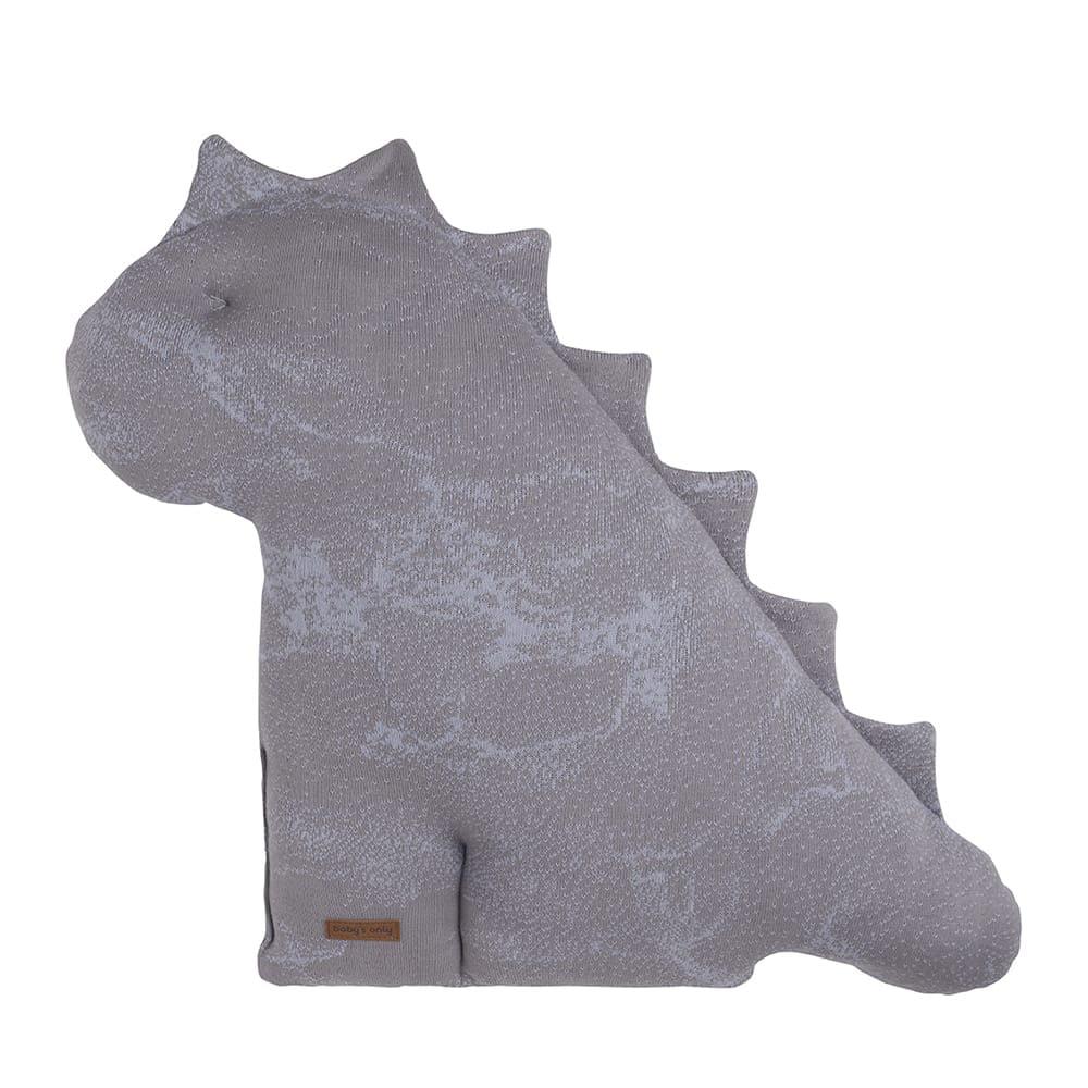cuddly dino marble cool greylilac 55 cm