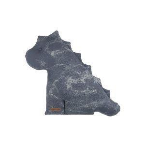 Cuddly dino Marble granit/grey - 40 cm