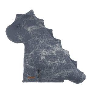 Cuddly dino Marble granit/grey - 55 cm