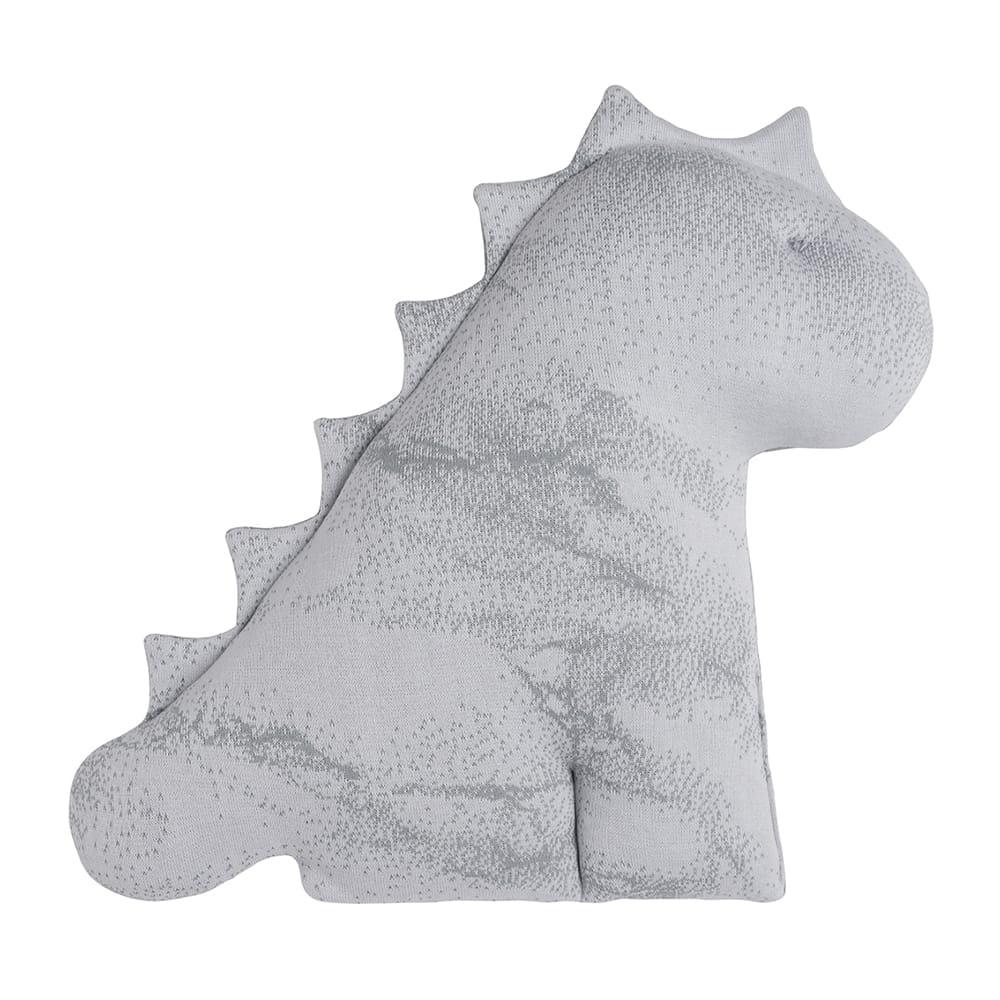 cuddly dino marble greysilvergrey 55 cm