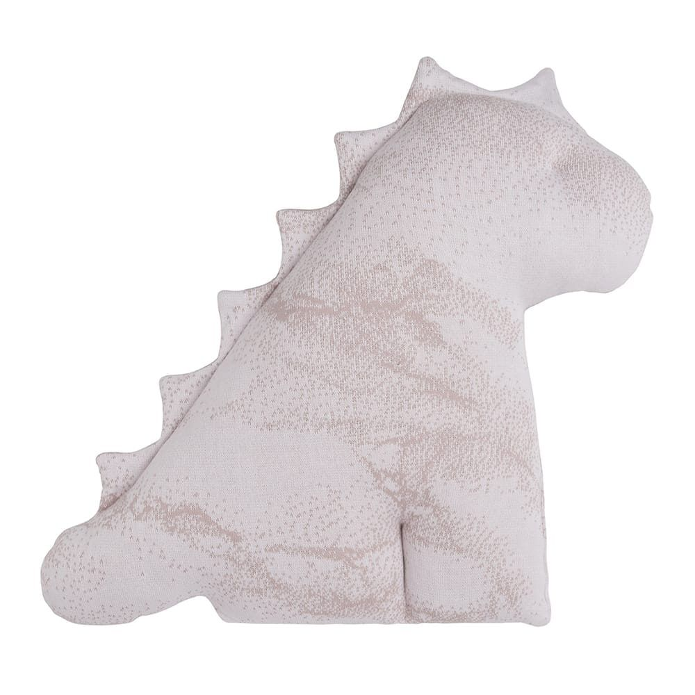 cuddly dino marble old pinkclassic pink 55 cm