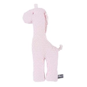 Cuddly giraffe Sun classic pink/baby pink