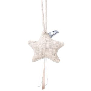 Decoration star Cable beige