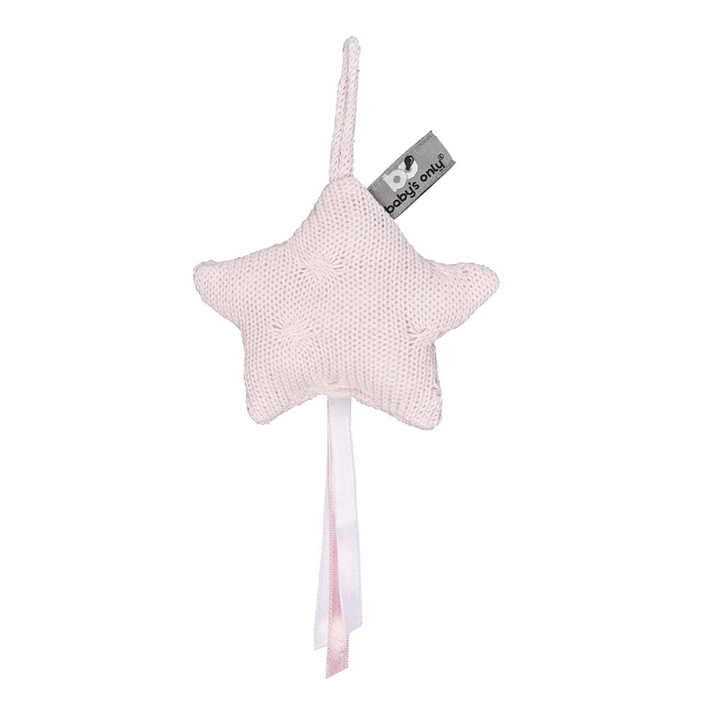 decoration star cable classic pink