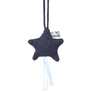 Decoration star Cable dark blue