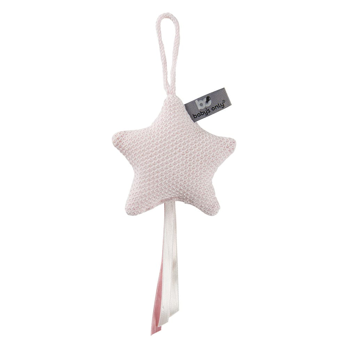 decoration star classic pink