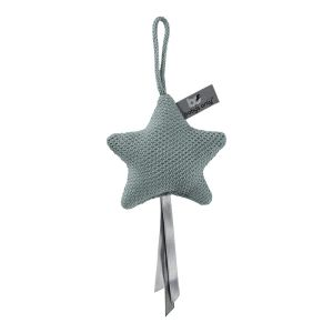 Decoration star Classic stonegreen