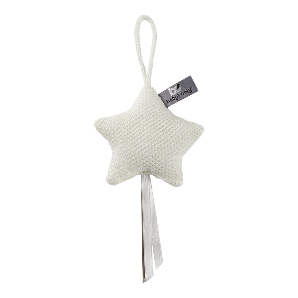 decoration star classic woolwhite