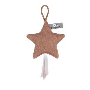 Decoration Star Sparkle copper-honey melee