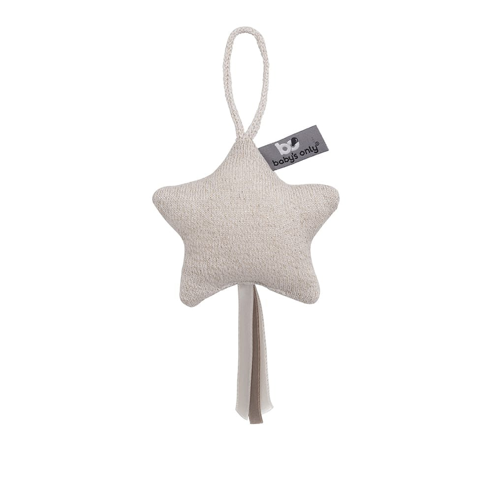 decoration star sparkle goldivory melee