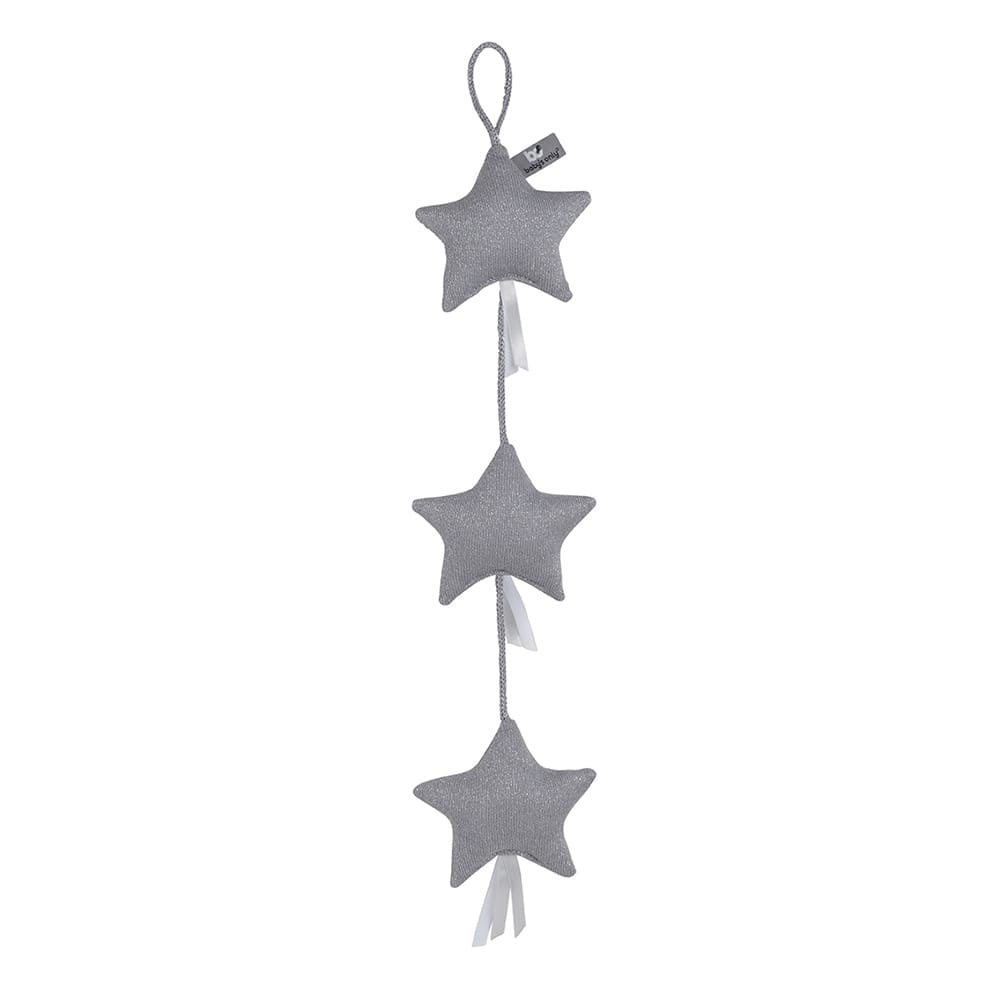 decoration string sparkle silvergrey melee