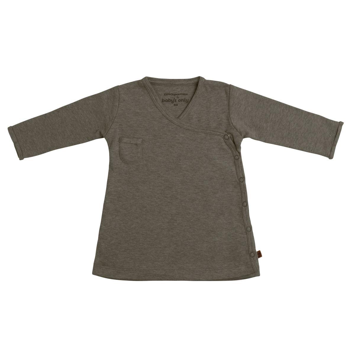 dress melange khaki 62