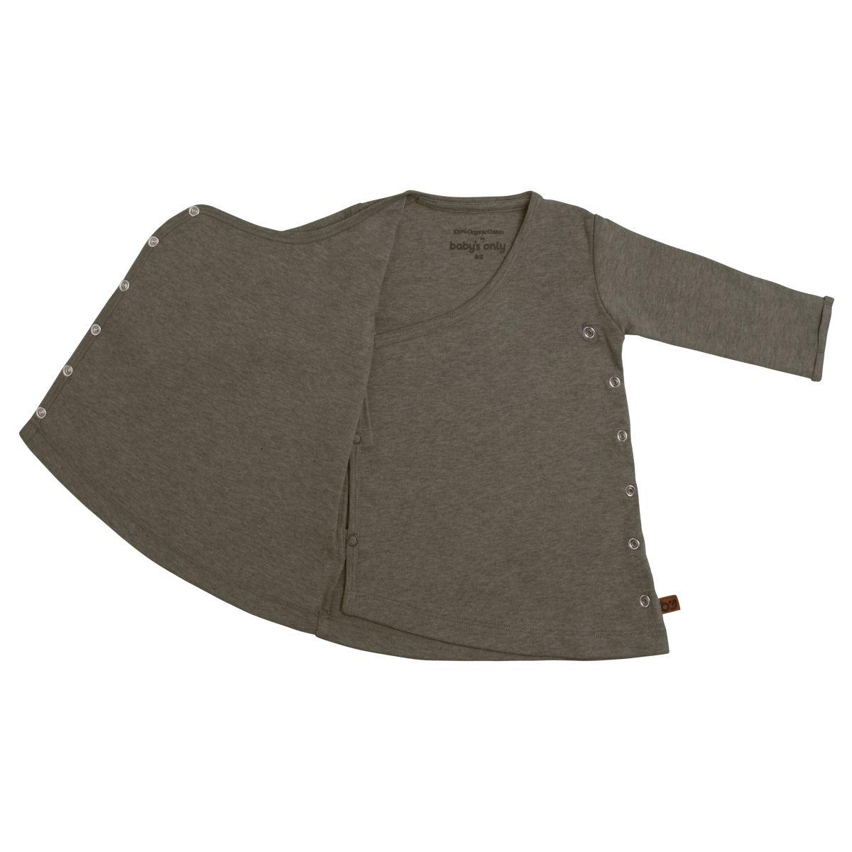 dress melange khaki 68