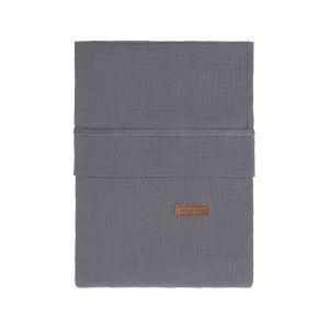 Duvet cover Breeze anthracite - 100x135
