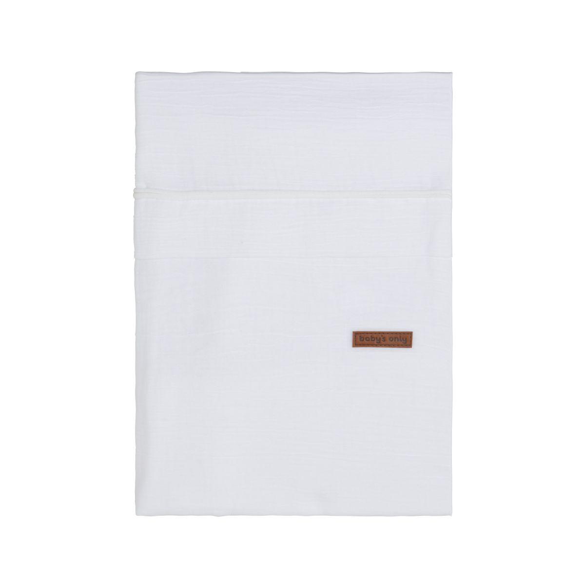 duvet cover breeze white 100x135