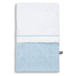 Duvet cover Cable baby blue - 100x135