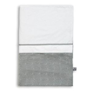 Duvet cover Cable grey - 100x135