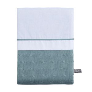 Duvet cover Cable stonegreen - 100x135