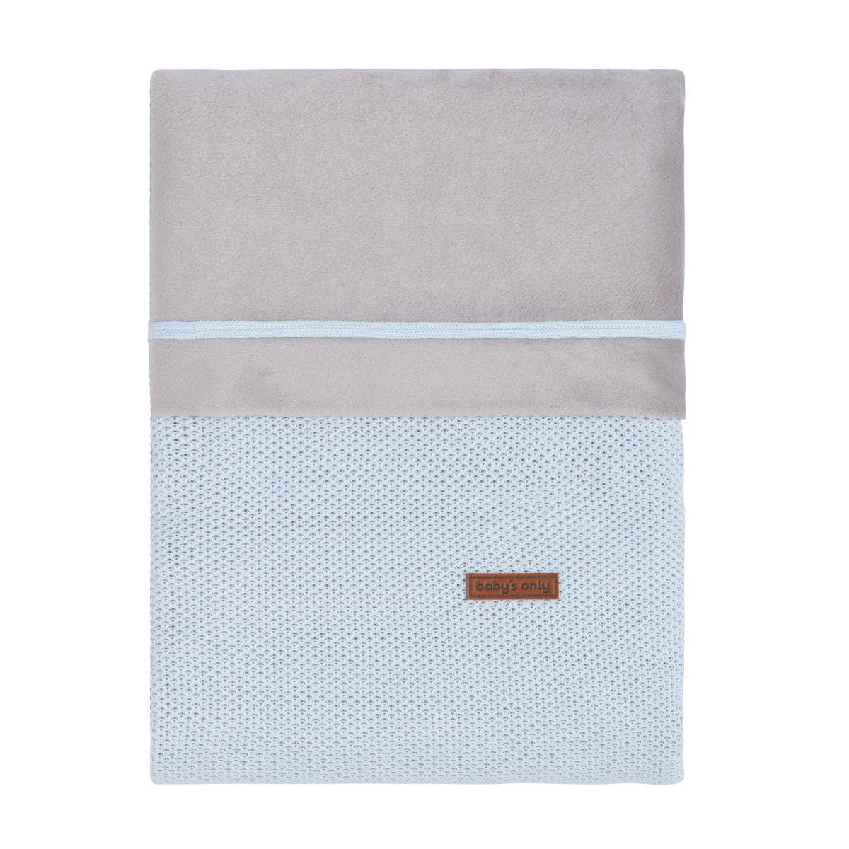 duvet cover classic powder blue 100x135