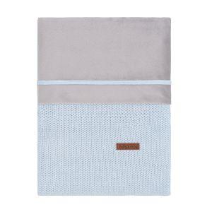 Duvet cover Classic powder blue - 100x135