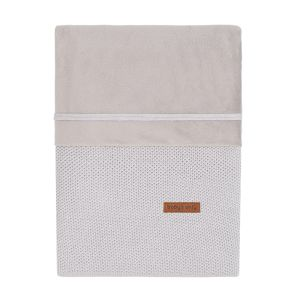 Duvet cover Classic silver-grey - 80x80