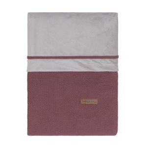 Duvet cover Classic stone red - 80x80 cm