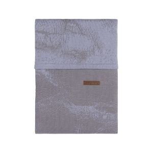 Duvet cover Marble cool grey/lilac - 100x135