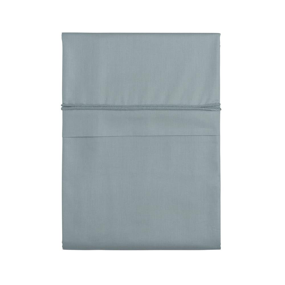 duvet cover soft cotton stonegreen 100x135