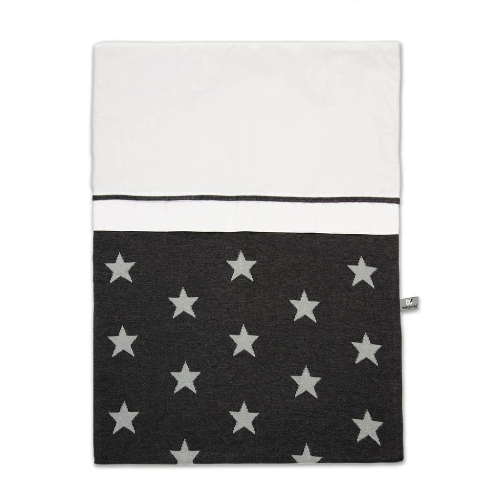 duvet cover star anthracitegrey 100x135