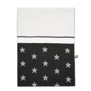 Duvet cover Star anthracite/grey - 100x135