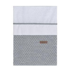 Duvet cover Sun grey/silver-grey - 100x135