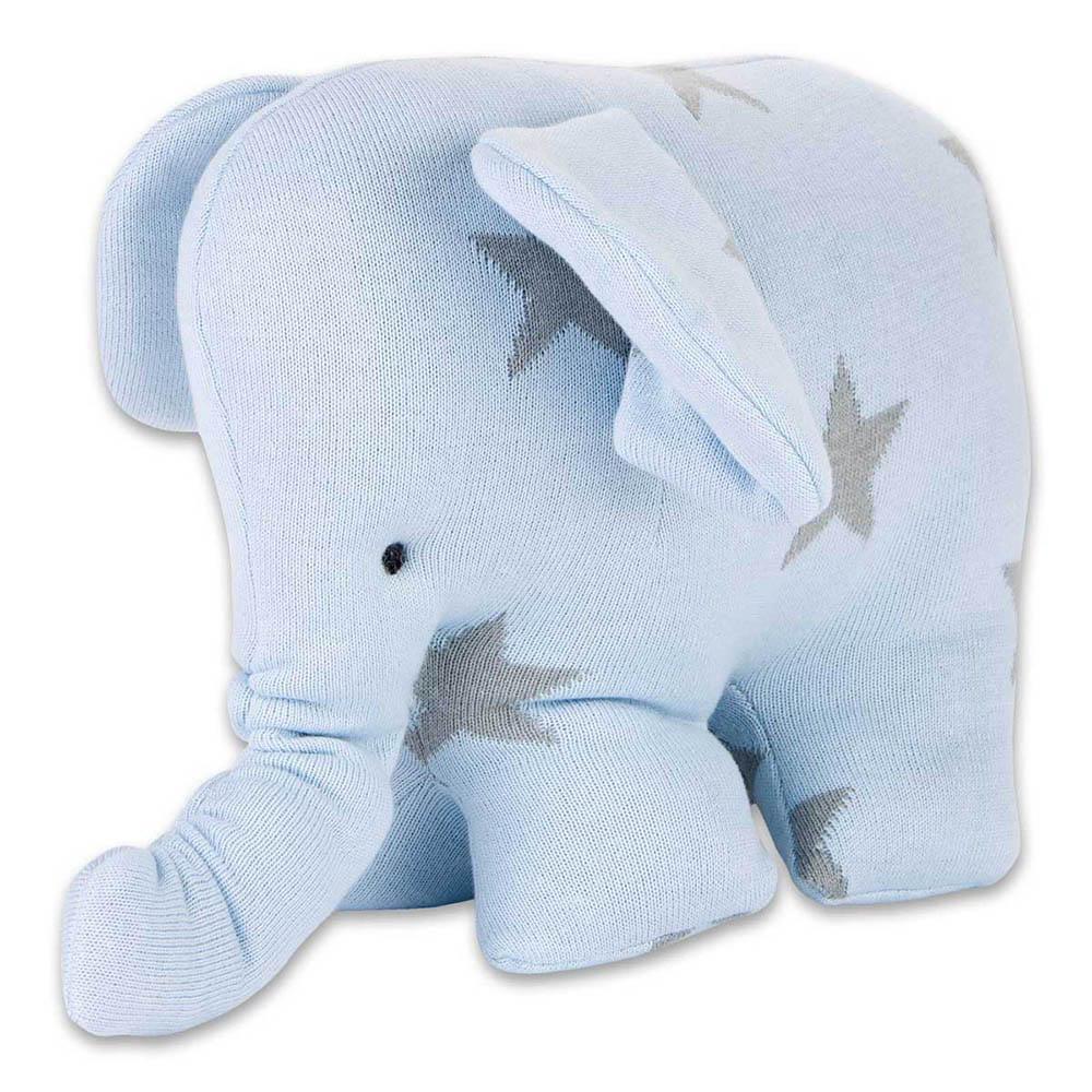elephant star baby bluegrey