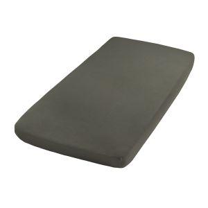 Fitted sheet khaki - 60x120