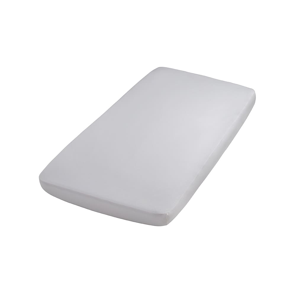 fitted sheet silvergrey 40x80