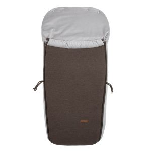 Footmuff buggy Classic cacao