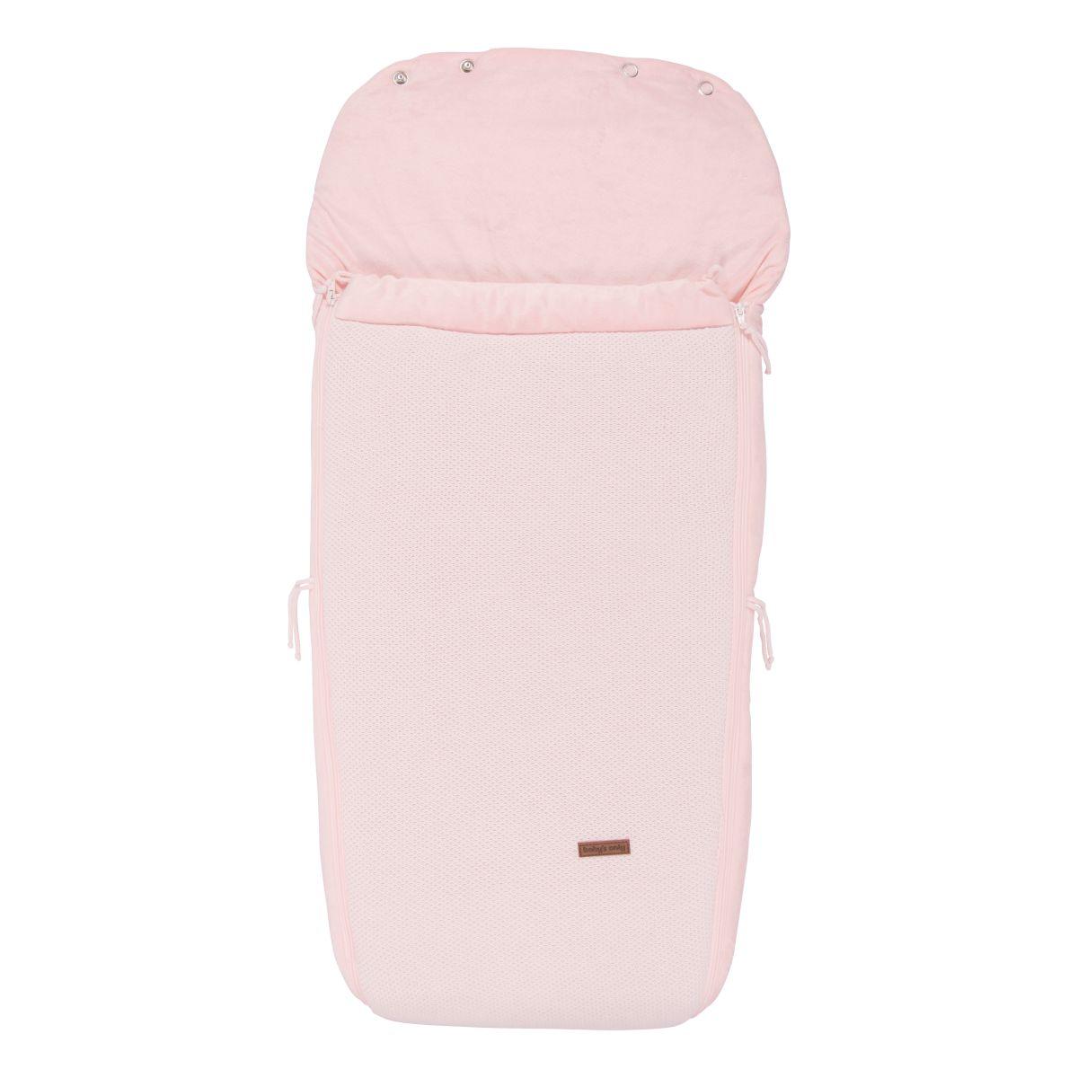 footmuff buggy classic pink